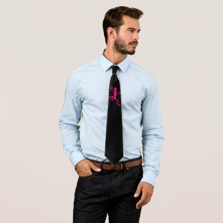 Purple frog tie