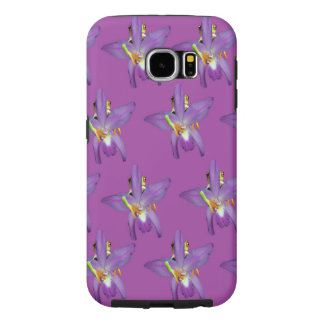 Purple_Frog_Tough Samsung Galaxy S6 Case