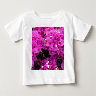 Purple Fuchsia Bougainvillea Background Baby T-Shirt