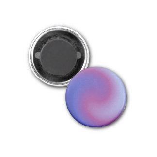 Purple Fuchsia Swirl Magnet