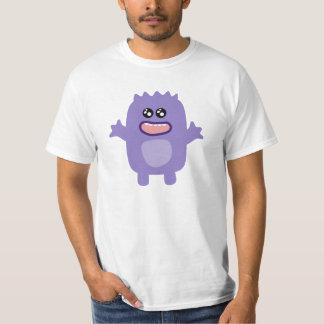 Purple funny monster animated creature shirt