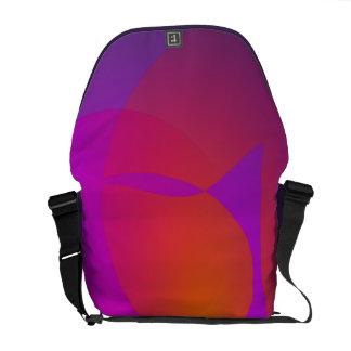 Purple Furnace Courier Bag