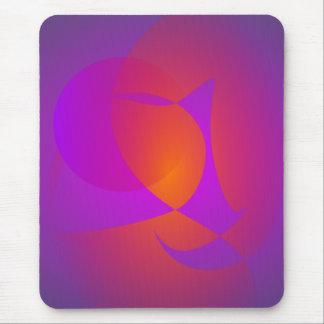 Purple Furnace Mouse Pads