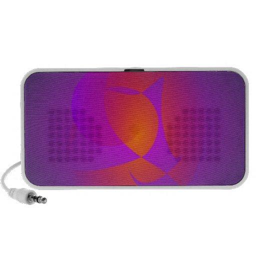 Purple Furnace Portable Speaker