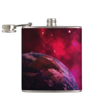 Purple galaxy 2 - purple galaxy flasks