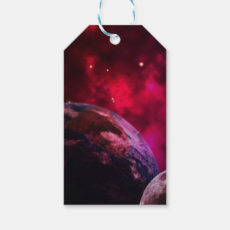 Purple galaxy 2 - purple galaxy gift tags