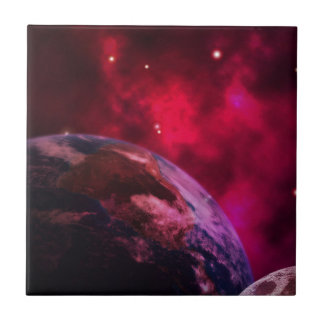 Purple galaxy 2 - purple galaxy tile