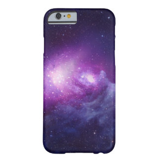 Purple Galaxy Barely There iPhone 6 Case