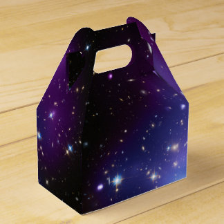 Purple Galaxy Cluster Favor Box