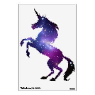 Purple Galaxy Cluster Unicorn Wall Decal