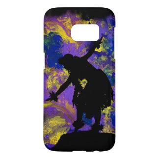 Purple Galaxy Hula Dancer Samsung Galaxy S7 Case