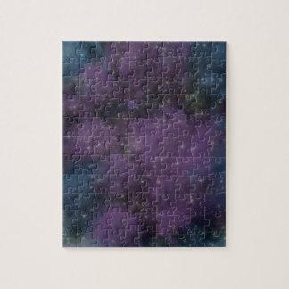 Purple Galaxy Nebula Jigsaw Puzzle