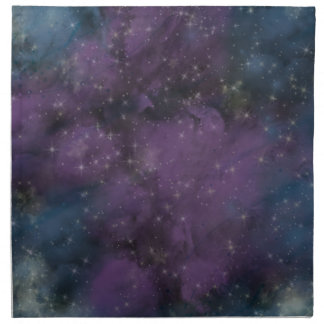 Purple Galaxy Nebula Napkin