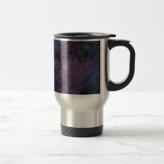 Purple Galaxy Nebula Travel Mug