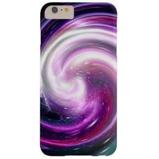 Purple Galaxy Nebula Twirl Barely There iPhone 6 Plus Case