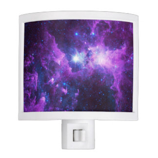 Purple Galaxy Night Light