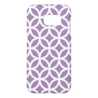 Purple Galaxy S7 Cases Geometric Pattern