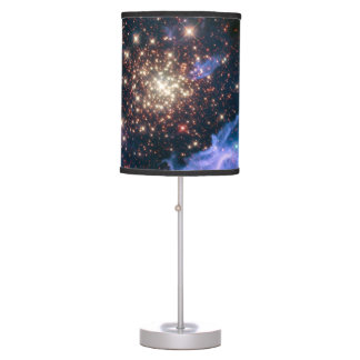 Purple Galaxy Starry Sky Supernova Astronomy Space Table Lamp