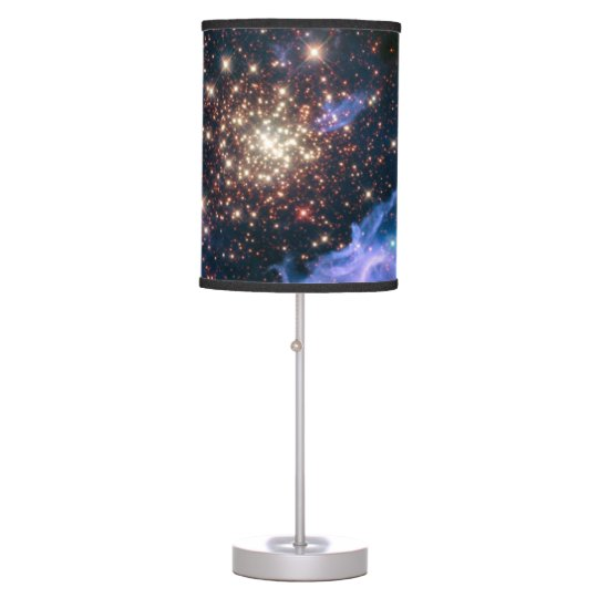 Purple Galaxy Starry Sky Supernova Astronomy Space Table Lamp