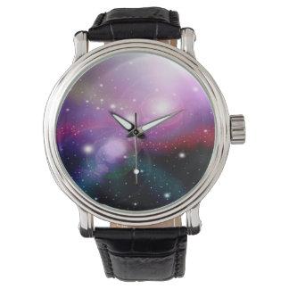 Purple Galaxy Wristwatches