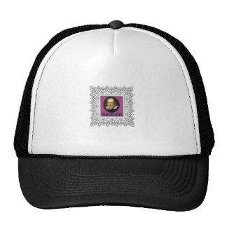 purple galileo trucker hat