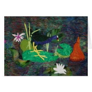 Purple Gallinule Card