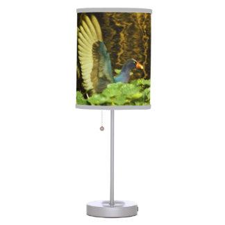 Purple Gallinule Table Lamp