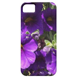 Purple Garden Flowers iPhone 5 Case