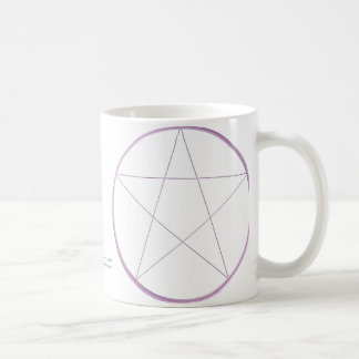 Purple Gel Pentacle Coffee Mug