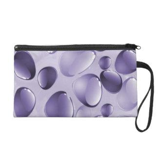 Purple Gemstone Wristlet