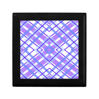 Purple Geometric Kaleidoscope pattern Gift Box