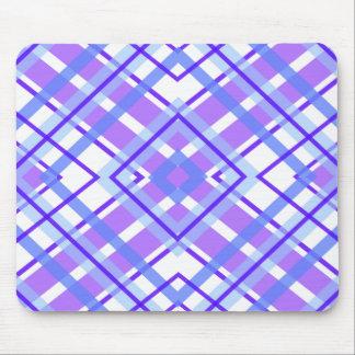 Purple Geometric Kaleidoscope pattern Mouse Pad