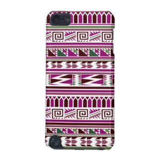Purple Geometric Modern Aztec Tribal Print Pattern iPod Touch (5th Generation) Case