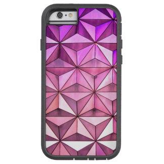 Purple Geometric Tough Xtreme iPhone 6 Case