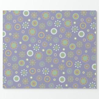 Purple Geometric Wrapping Paper