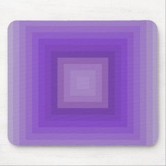 Purple geometrical pattern mouse pad