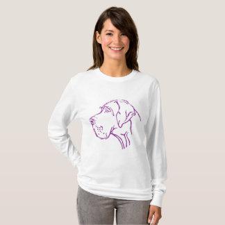 Purple German Dogge T-Shirt