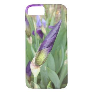 Purple German Iris Bud iPhone 8/7 Case
