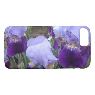 Purple German Irises iPhone 8/7 Case