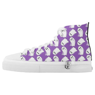 Purple Ghosts In Motion High Tops