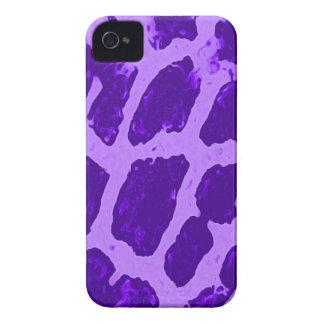 Purple Giraffe Print Blackberry Bold Case