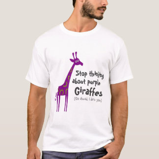 Purple Giraffes T-Shirt