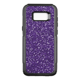 Purple Glam And Glitter OtterBox Commuter Samsung Galaxy S8+ Case