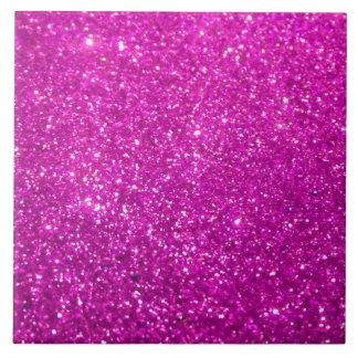 Purple Glamour Sparkley Ceramic Tile