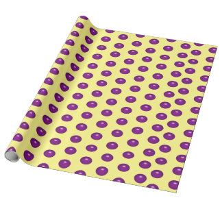 Purple Glass Dots