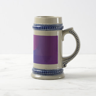 Purple Glass Coffee Mugs