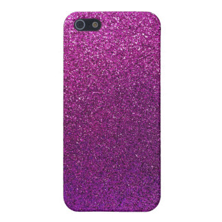 Purple Glitter Background Glittery Sparkle iPhone 5 Covers