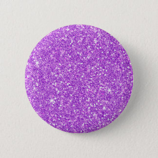 Purple Glitter Diamond Luxury Shine 2 Inch Round Button