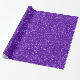 Purple Glitter Gift Wrap