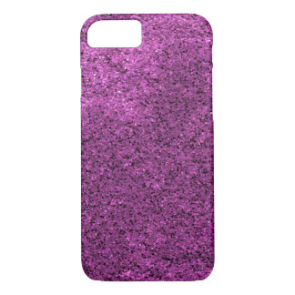 Purple Glitter iPhone 7 Case
